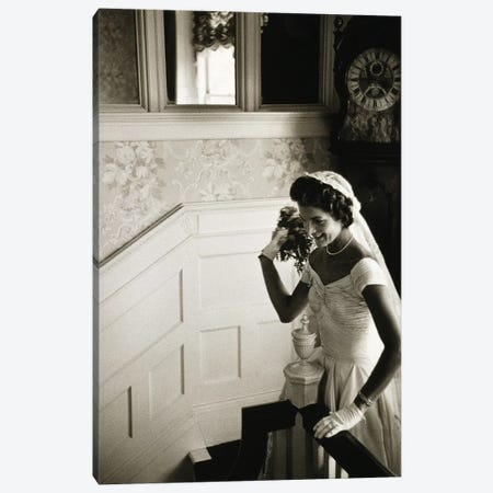 Jacqueline Kennedy (1929-1994) Canvas Print #GER152} by Toni Frissell Art Print