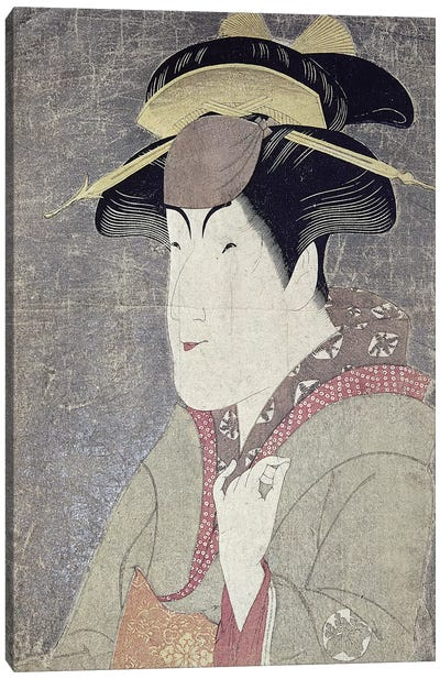 Japan: Actor, C1794 Canvas Art Print