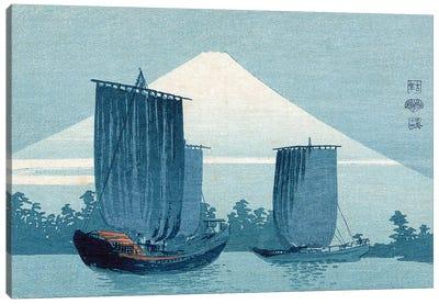 Japan: Sailboats, C1910 Canvas Art Print