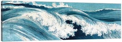 Uehara: Ocean Waves Canvas Art Print