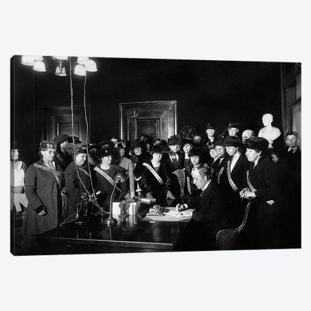 19Th Amendment, 1920 Canvas Print #GER158} by Unknown Canvas Art Print