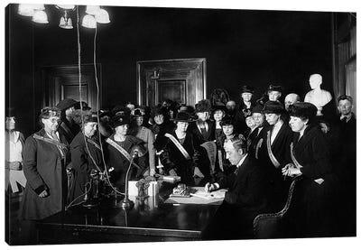 19Th Amendment, 1920 Canvas Art Print