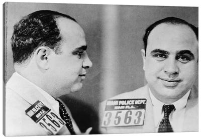 Al Capone (1899-1947) Canvas Art Print