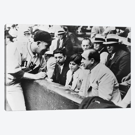 Al Capone (1899-1947) Canvas Print #GER163} by Unknown Canvas Artwork