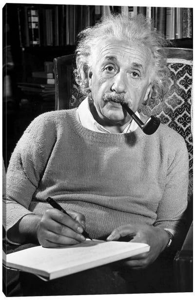 Albert Einstein (1879-1955) Canvas Art Print