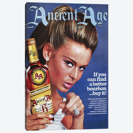 Ancient Age Ad, 1967 Canvas Print #GER171} by Unknown Canvas Art Print