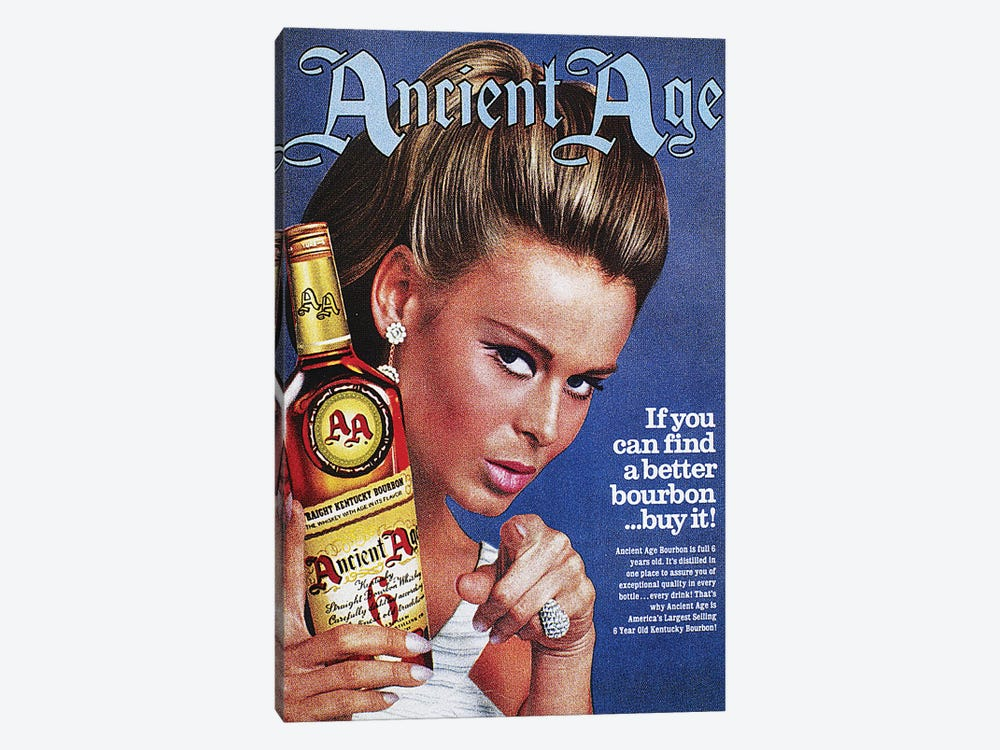 Ancient Age Ad, 1967 by Unknown 1-piece Canvas Print
