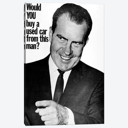 Anti-Nixon Poster, 1960 Canvas Print #GER172} by Unknown Art Print