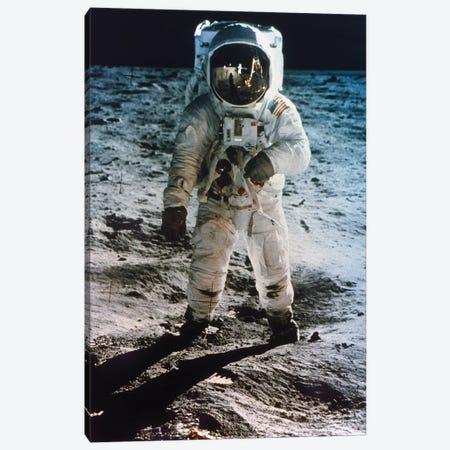 Apollo 11: Buzz Aldrin Canvas Print #GER173} by Unknown Art Print