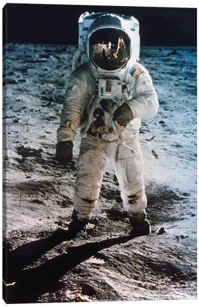 Apollo 11: Buzz Aldrin Canvas Art Print