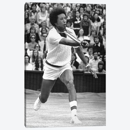 Arthur Ashe (1943-1993) Canvas Print #GER175} by Unknown Canvas Artwork