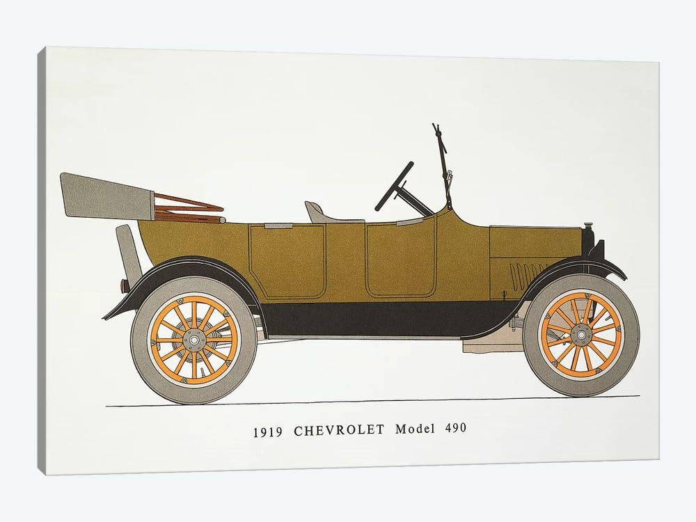 Auto: Chevrolet, 1919 by Unknown 1-piece Canvas Artwork