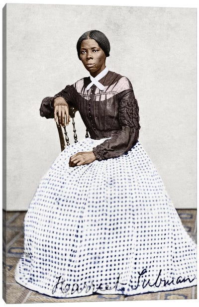 Harriet Tubman (C1823-1913) Canvas Art Print