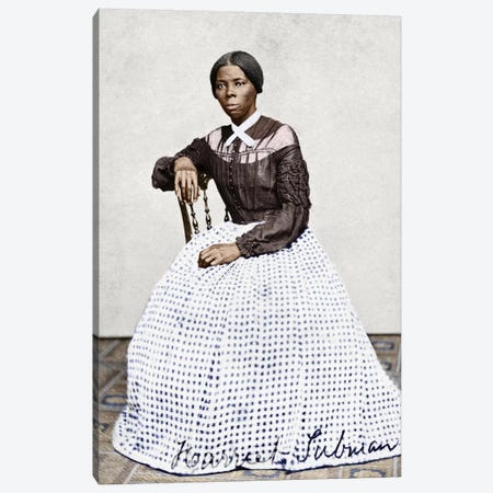 Harriet Tubman (C1823-1913) Canvas Print #GER17} by Benjamin Powelson Canvas Print
