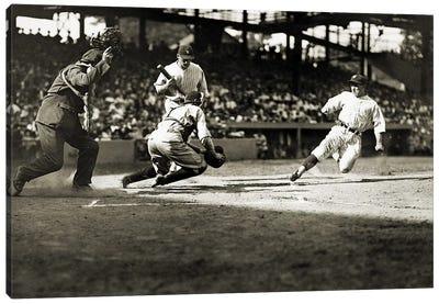 Baseball: Washington, 1925 Canvas Art Print