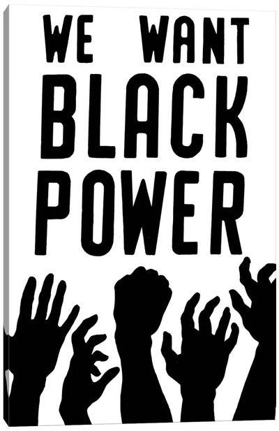 Black Power, 1967 Canvas Art Print