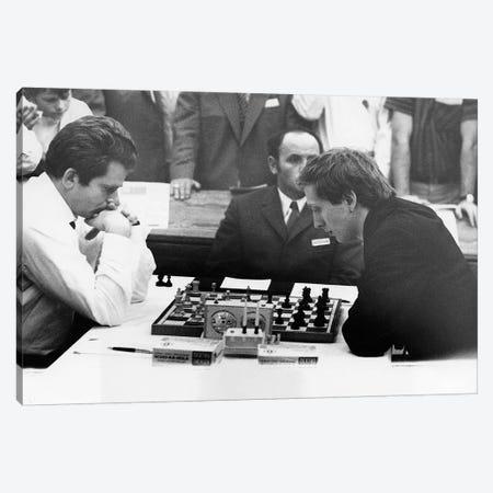 Bobby Fischer (1943-2008) Canvas Print #GER199} by Unknown Art Print
