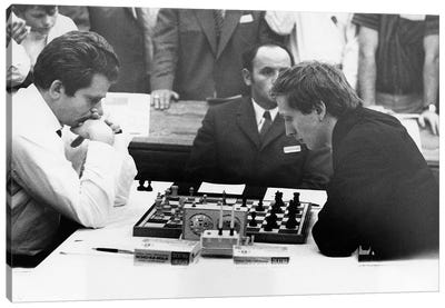 Bobby Fischer (1943-2008) Canvas Art Print