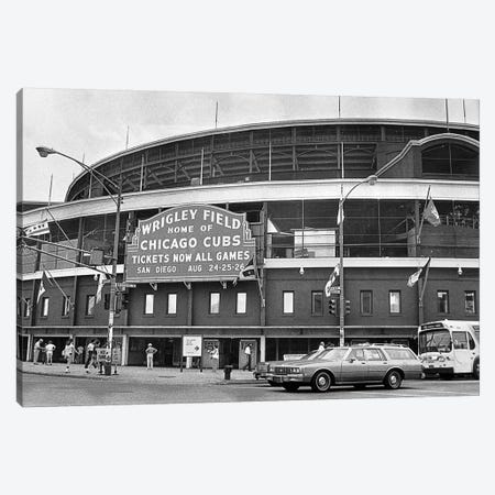 Chicago: Wrigley Field Canvas Print #GER208} by Unknown Canvas Art Print