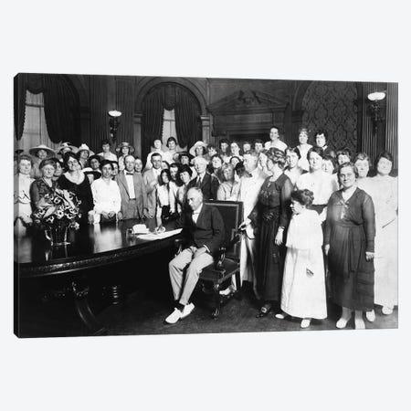 19Th Amendment, 1919 Canvas Print #GER20} by Carl Deeg Canvas Art Print