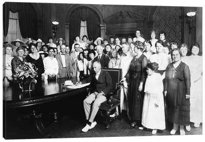 19Th Amendment, 1919 Canvas Art Print