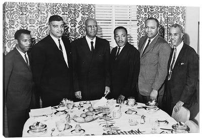 Civil Rights Leaders, 1963 Canvas Art Print