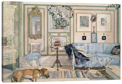 Larsson: Home, C1895 Canvas Art Print