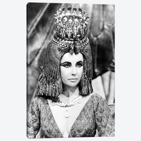 Elizabeth Taylor (1932-2011) Canvas Print #GER221} by Unknown Art Print