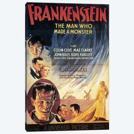 Film: Frankenstein, 1931 Canvas Print #GER227} by Unknown Canvas Artwork