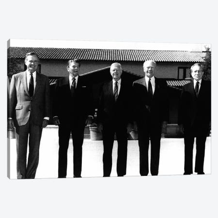 Former Presidents, 1991 Canvas Print #GER228} by Unknown Canvas Art Print