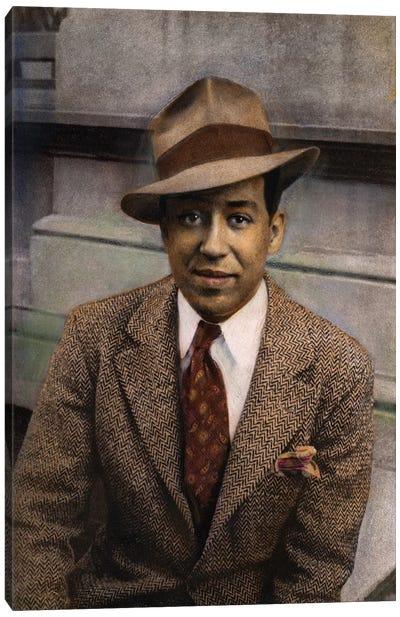 Langston Hughes (1902-1967) Canvas Art Print