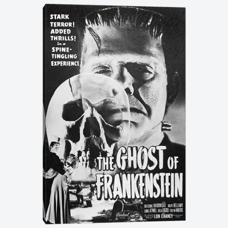 Ghost Of Frankenstein 3-Piece Canvas #GER245} by Unknown Canvas Wall Art
