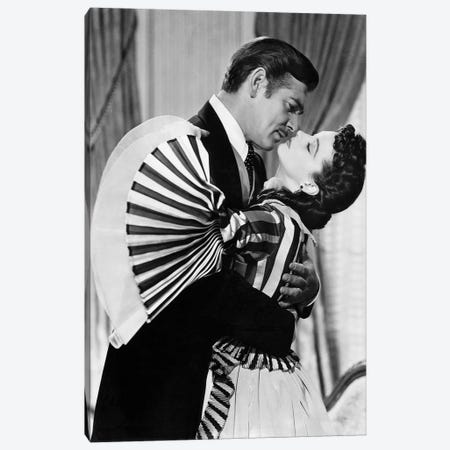Gone With The Wind, 1939 Canvas Print #GER248} by Unknown Art Print