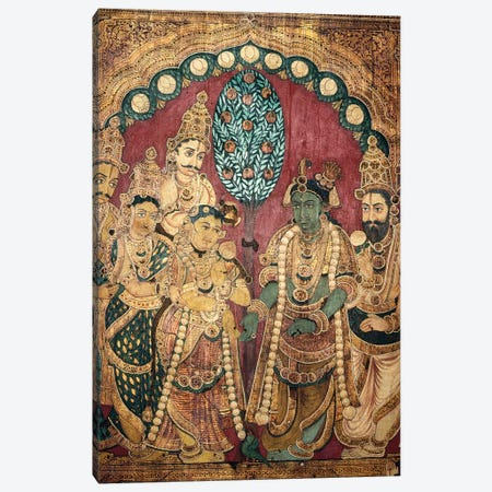 Hindu Wedding Ceremony Canvas Print #GER255} by Unknown Canvas Print