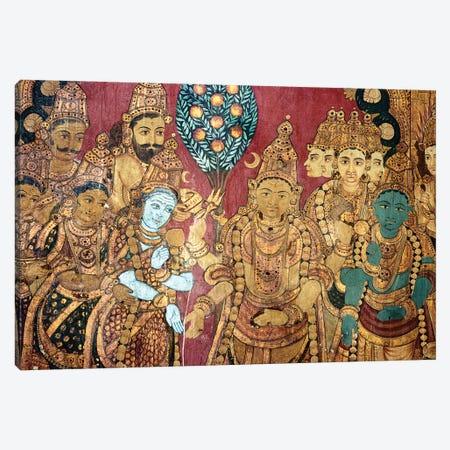 Hindu Wedding Ceremony Canvas Print #GER256} by Unknown Art Print