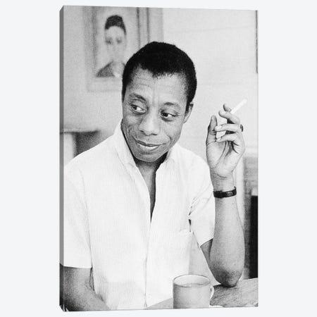 James Baldwin (1924-1987) Canvas Print #GER263} by Unknown Art Print