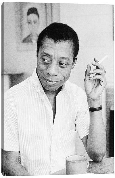 James Baldwin (1924-1987) Canvas Art Print