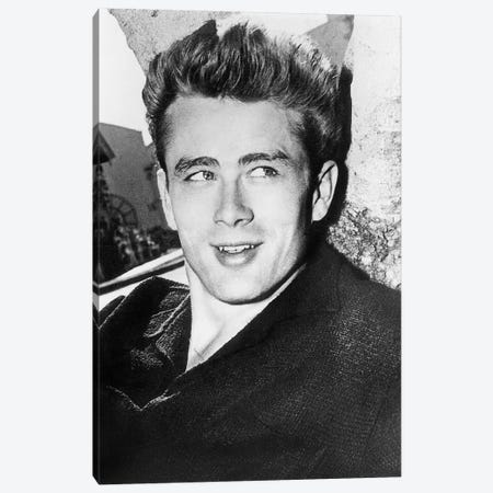 James Dean (1931-1955) Canvas Print #GER265} by Unknown Canvas Wall Art