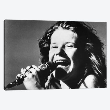 Janis Joplin (1943-1970) Canvas Print #GER268} by Unknown Canvas Print