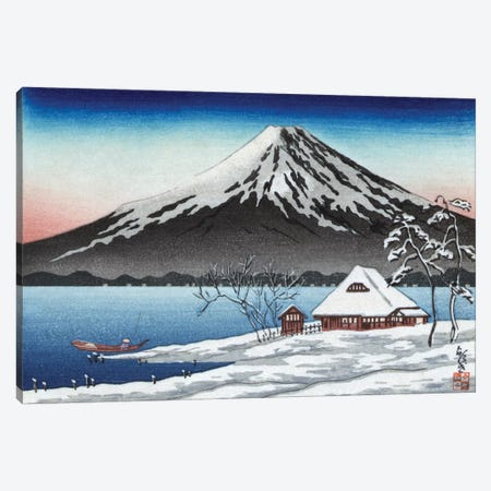 Japan: Mount Fuji Canvas Print #GER271} by Unknown Canvas Artwork