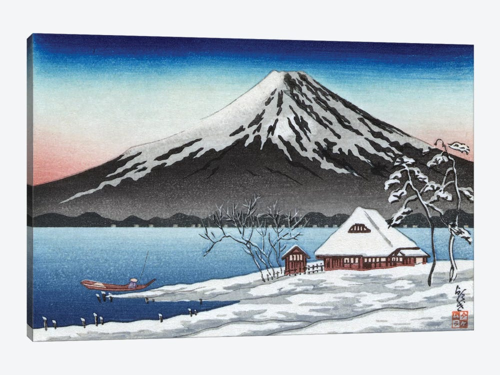 Japan: Mount Fuji by Unknown 1-piece Canvas Art Print