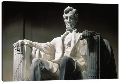 Lincoln Memorial: Statue Canvas Art Print