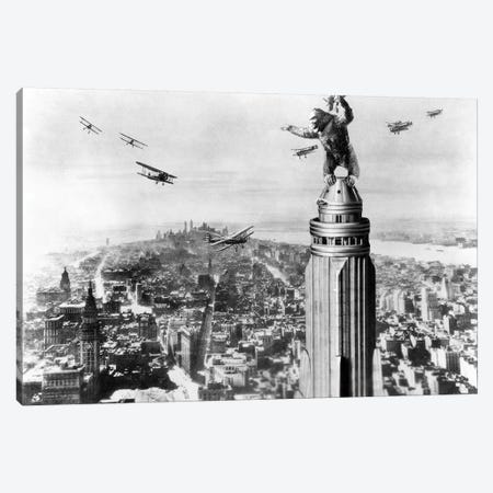 King Kong, 1933 Canvas Print #GER292} by Unknown Canvas Artwork