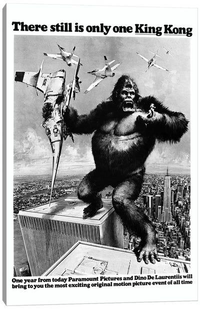 King Kong, 1976 Canvas Art Print