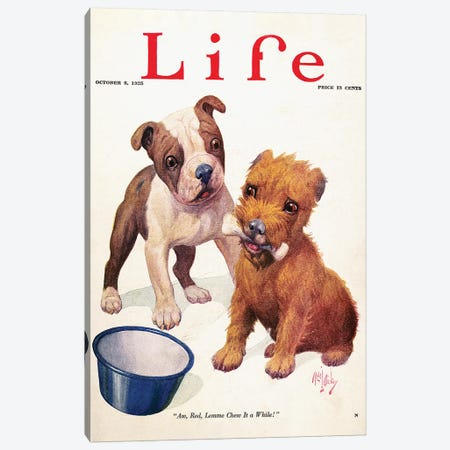 Magazine: Life, 1925 Canvas Print #GER297} by Unknown Canvas Art Print
