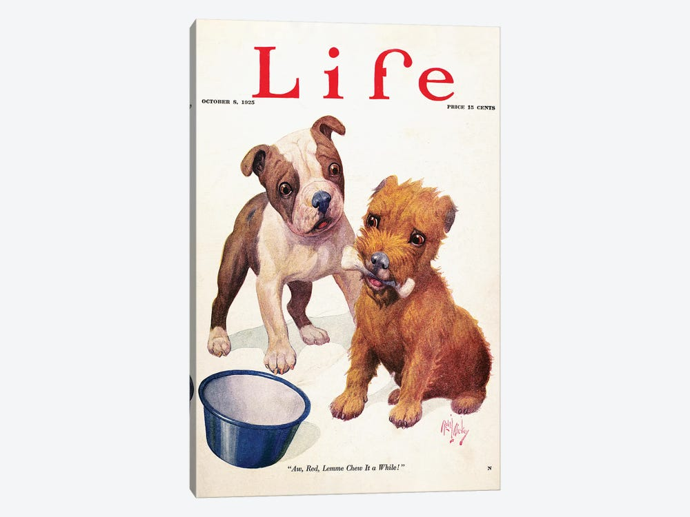 Magazine: Life, 1925 by Unknown 1-piece Canvas Print