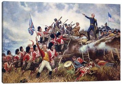 Battle Of New Orleans, 1815 Canvas Art Print