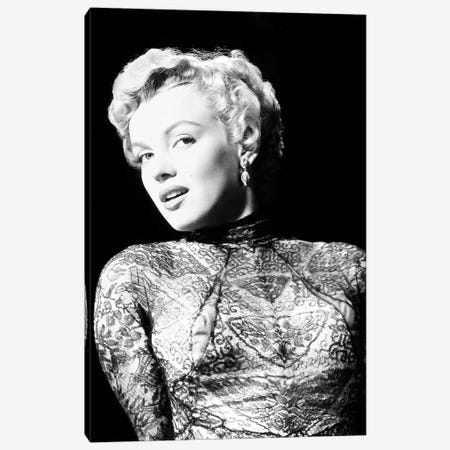 Marilyn Monroe (1926-1962) Canvas Print #GER307} by Unknown Art Print
