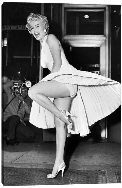 Marilyn Monroe (1926-1962) Canvas Art Print