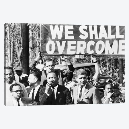 Martin Luther King, Jr Canvas Print #GER315} by Unknown Canvas Artwork